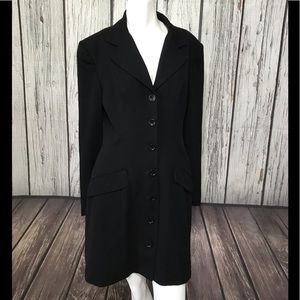 Bebe long sleeve button down jacket size 8